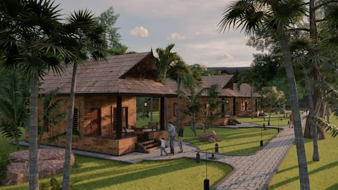 Areca County - Entire Property with 5 Cottages