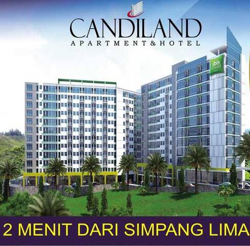 View City & Sea di Candiland 1 BR Apt