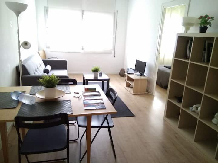 Nice Studio best area of barcelona