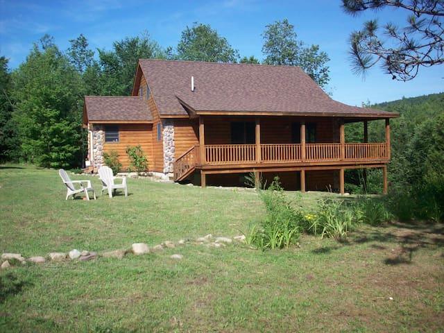 Escape to the Adirondack Cabin
