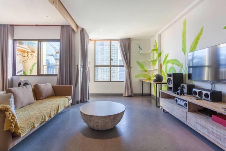 Designer Loft Saigon Luxury Icon56 RooftopPool!