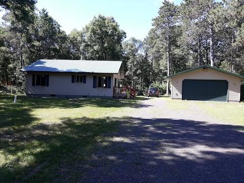 Deer Walk Cabin in Barnes, WI