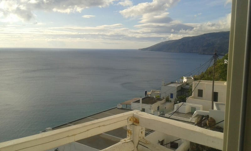 best balkoni  in  aegean sea - Skyros - House