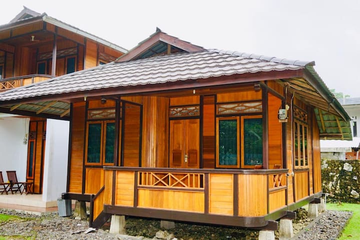Harnadi Cottages at Batu Karas Beach #1