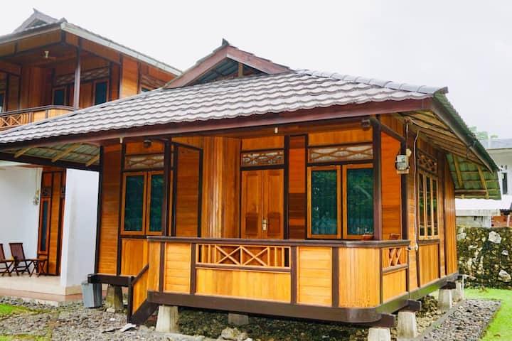 Harnadi Cottages at Batu Karas Beach #1