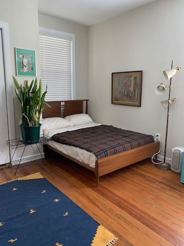 Private Mid-Century Furnished Bedroom
