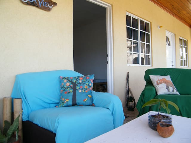 Blue Room@Sea View Apartment - Port Antonio - Huoneisto