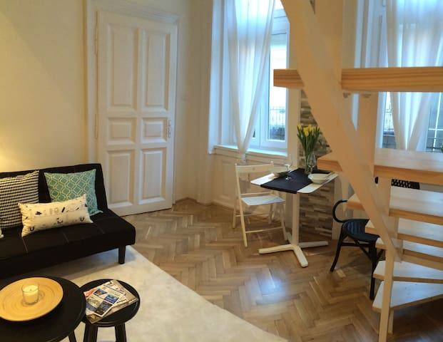 Newly renovated flat in Buda - Budapest - Apartment