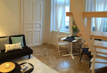 Newly renovated flat in Buda - Budapest - Leilighet