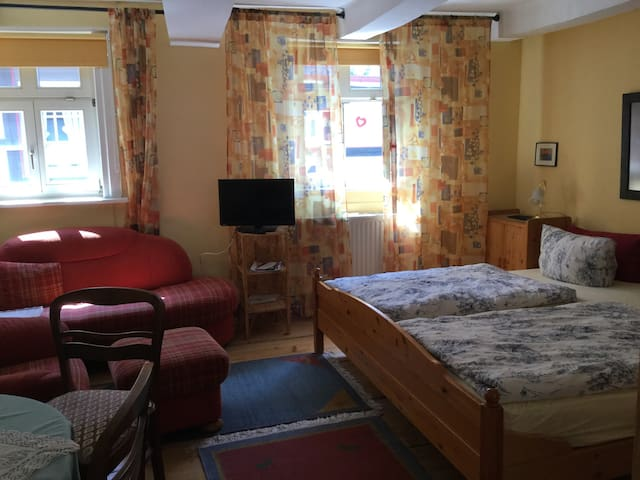 Gemütliche Wohnung mit + ohne Kind - Goslar - Apartemen