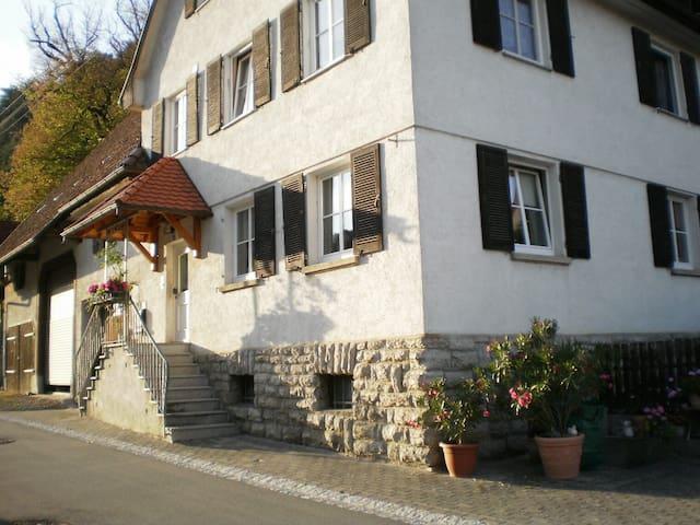 großzügige Ferienwohnung mit gemütlichem Ambiente - Epfendorf - Condominium