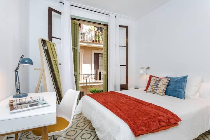 3 double bedroom apartment in heart of Gracia