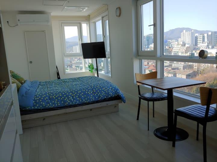 「재방문200%」의정부역 도보5분 최대사이즈 창문의 환상적인 view - 장기 숙박 할인!