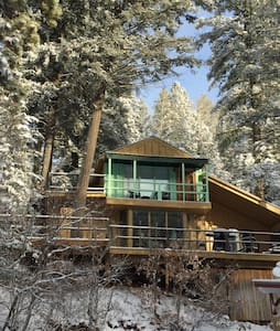 Forest House is in the village - Cloudcroft - Kabin