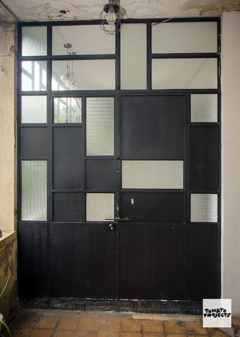Front door - Entrance to the apartment