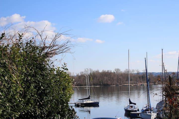 Appartamento in Villa tra natura e lago