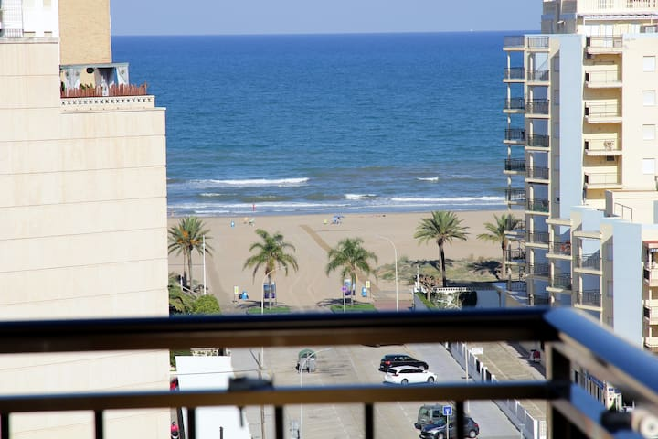 Room 2 people at Gandia Beach, Queen size Bed Wifi - Grau i Platja - Appartamento