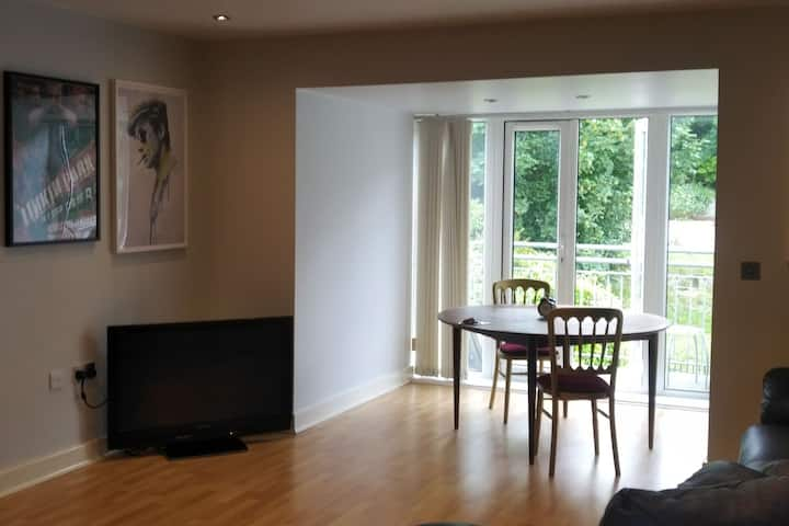 A Newly decorated double room