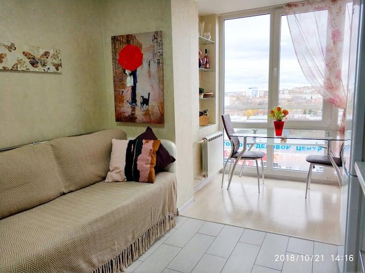 Видовые 3-х комнатные апарты рядом с центром