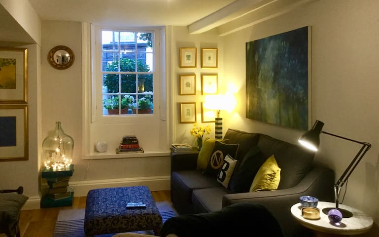 Beautiful 1BR Apartment in Historic St Aubin House