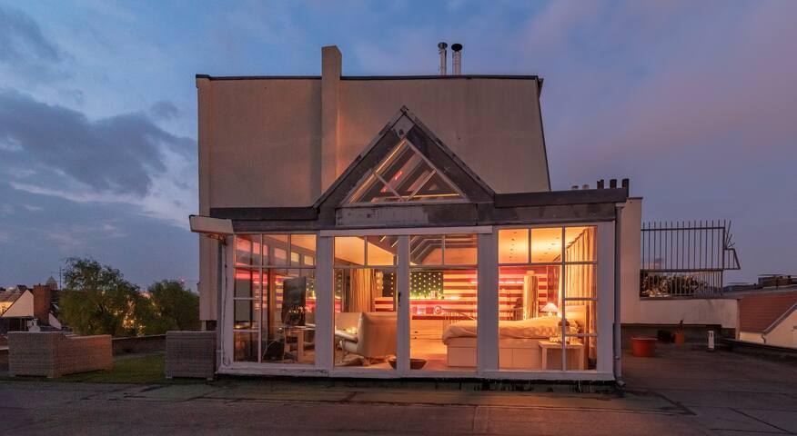 Künstler-Loft with 360 View