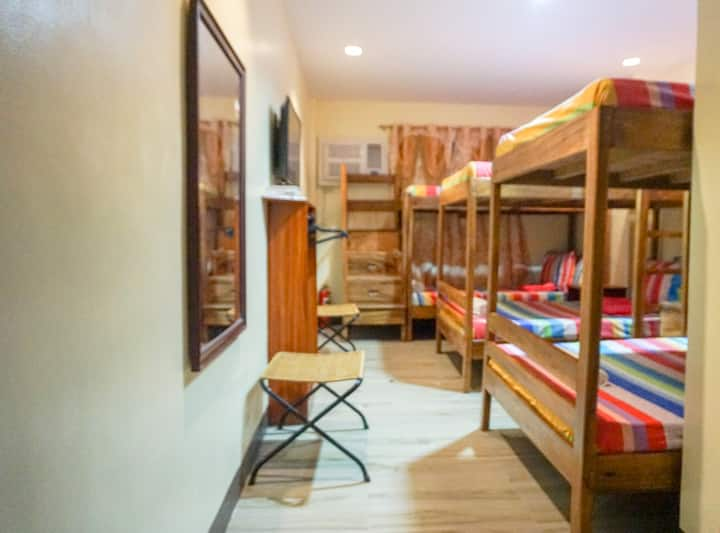 Big Bunk Bed in a shared room, dorm style 302-3