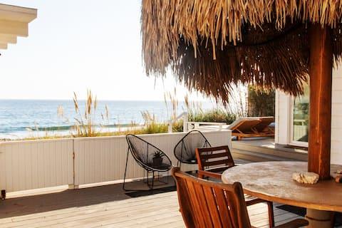 Private Malibu Beachfront Cottage