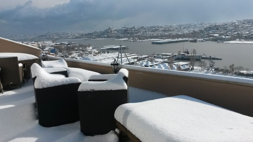 Stunning Golden Horn View - Istanbul - Apartment
