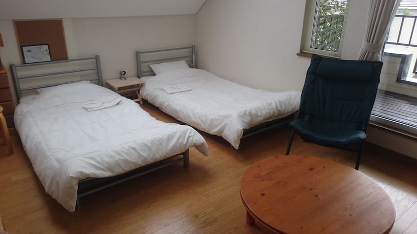 Homestay close to ShinHakodateHokuto Sta. FreeWiFi