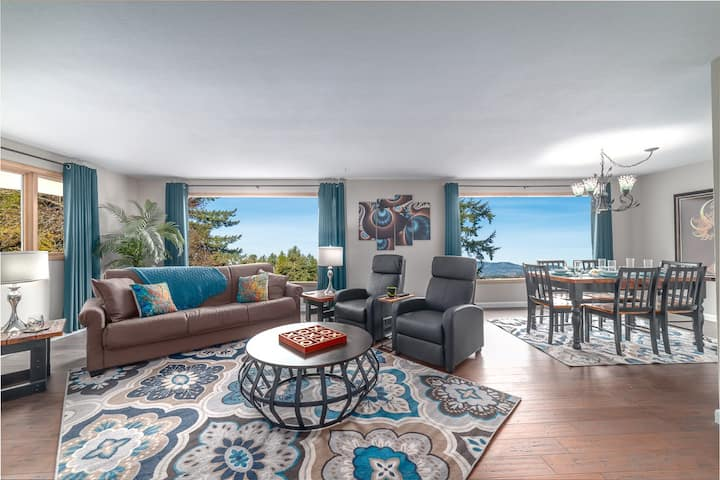 Enjoy the views from the South Hills of Eugene