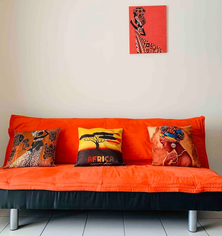 Magnifique Studio Africa : Sejour pro ou détente.