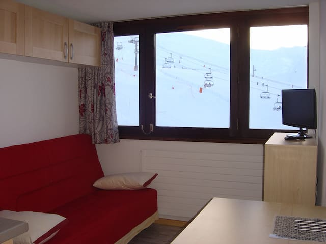 Charmant Studio TIGNES centre