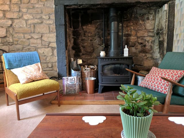 Middles, a cosy stone cottage in Northumberland
