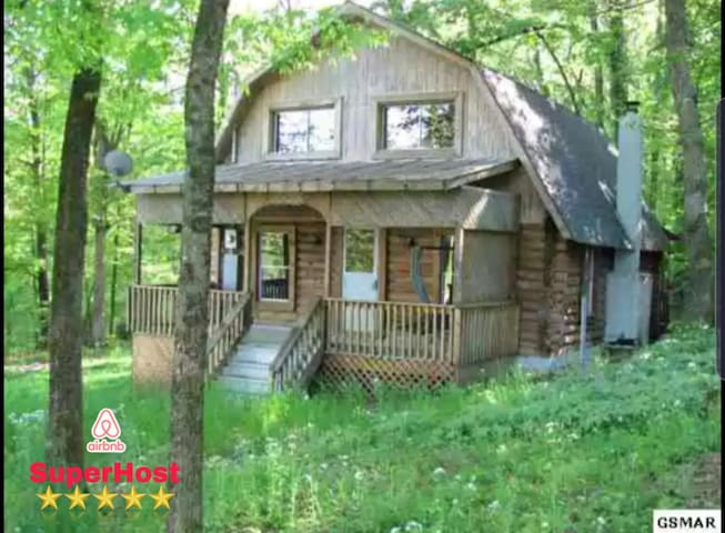 3b❤Cabin off Boyd's Creek•Receive 3 Night Trip🐾❤