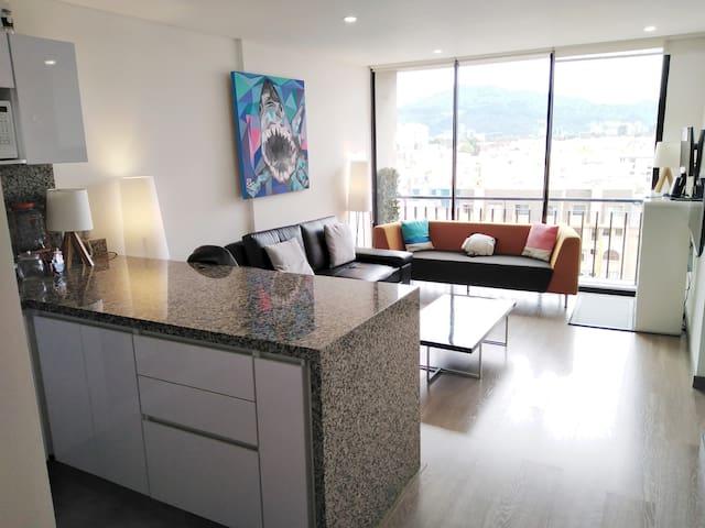 Hermoso apartamento moderno en Bogotá Norte