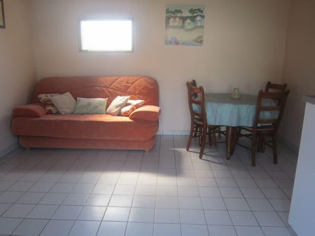 le canapé lit et coin salon
