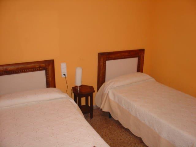 HABITACÍON HOTEL C/BAÑO DELTA EBRO - Santa Bàrbara - Casa