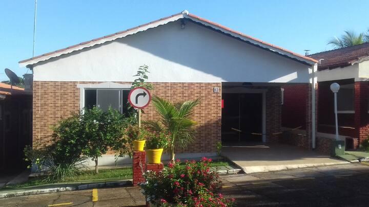 Casa com segurança e tranquilidade