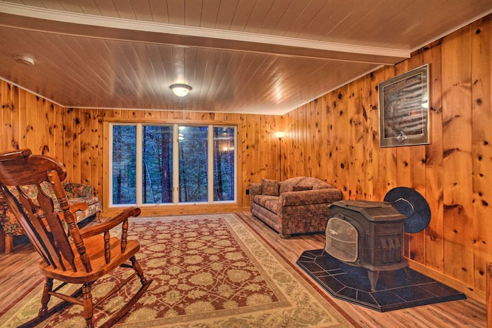 NEW! Rural Retreat in Great Sacandaga Lake Area!