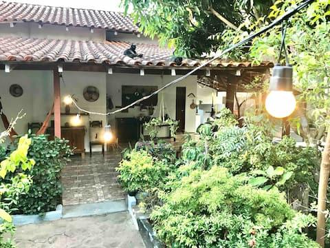 Casa Lua: komfort 5 minutter fra stranden og sentrum