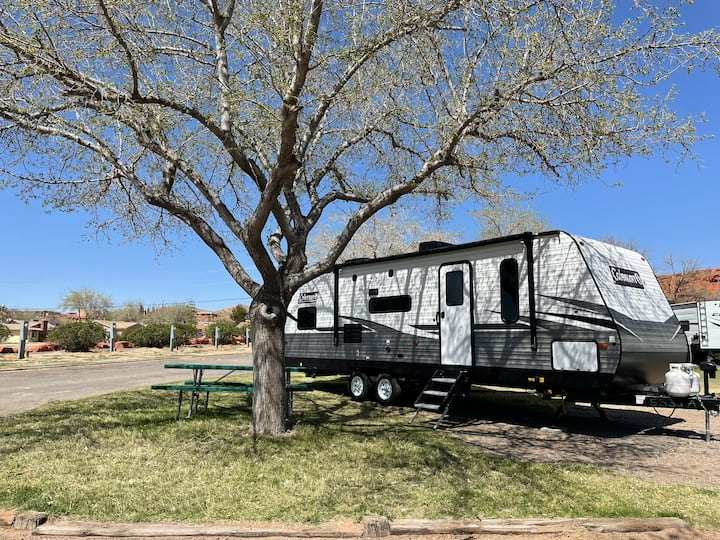 New Camper located at the St. George RV Park!