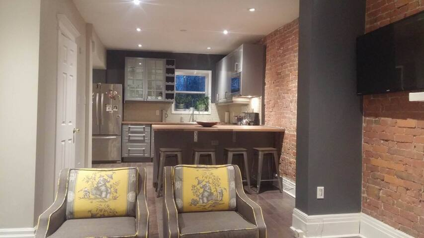 Open Concept 2 story 2 bed High Park flat + garden - Toronto - Apartment