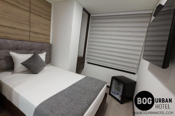 Corferias  Bog Urban Hotel Hab. Standard 202 - Bogotá - ที่พักพร้อมอาหารเช้า