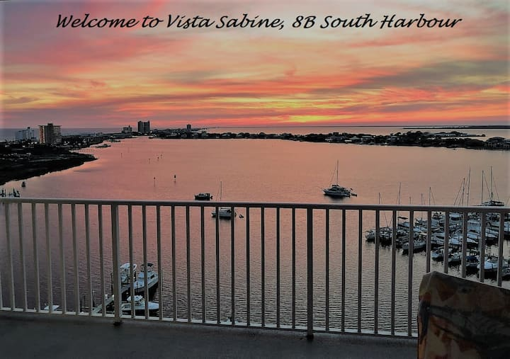 Welcome to Beautiful Vista Sabine, 8B