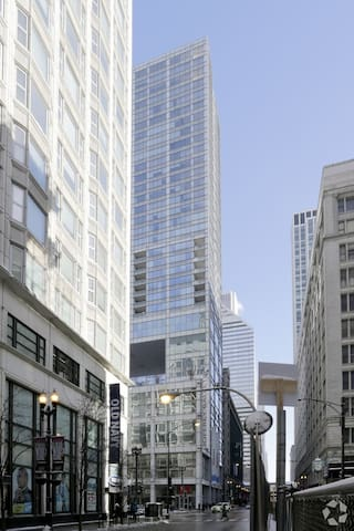 2 bed appartment @ Joffrey Tower - Chicago - Apto. en complejo residencial