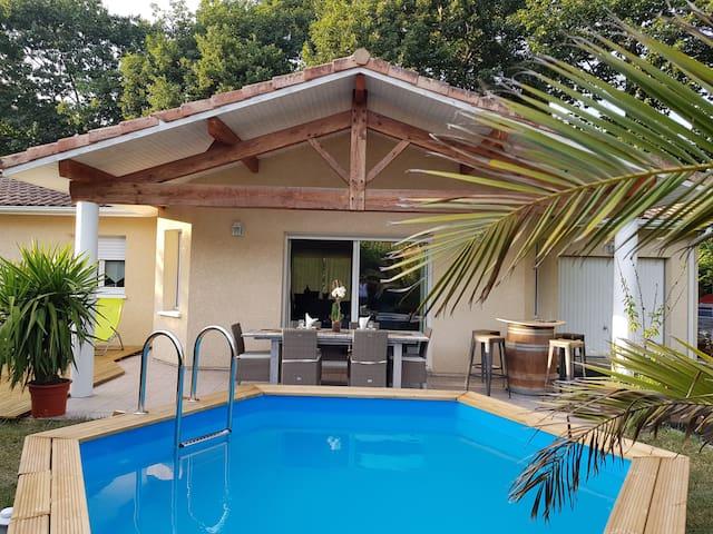 belle Villa avec piscine à 10mn d'HOSSEGOR