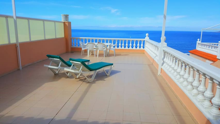 SUPERB PENTHOUSE WITH STUNNING VIEW - Los Gigantes - Appartement