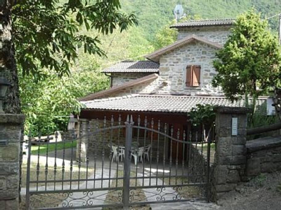 Vista dall'ingresso