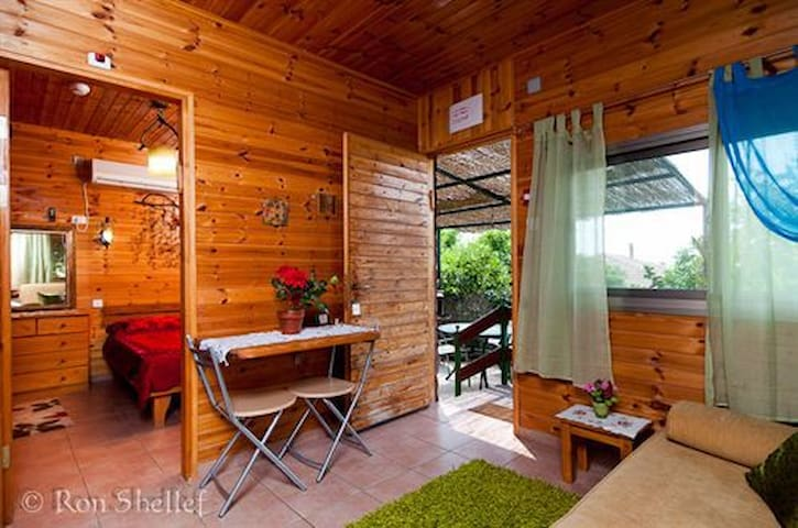 "Romantic cabin ""Arbel"" sea of galilee - Migdal - Cabana"