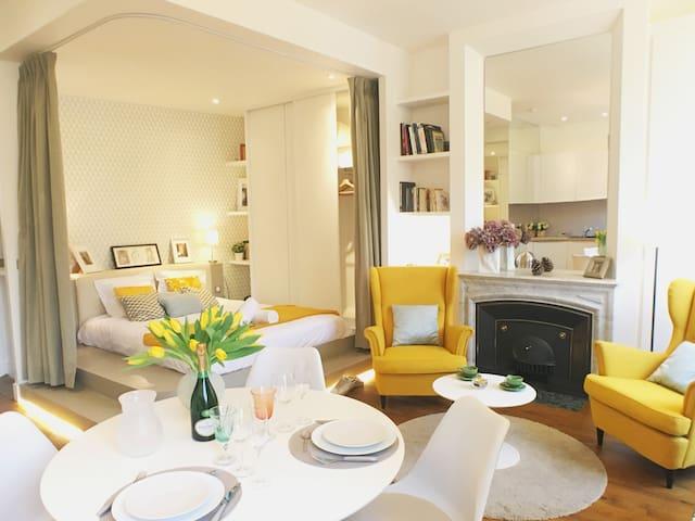 Majord'Home-Suite Romantique-Lyon Croix Rousse